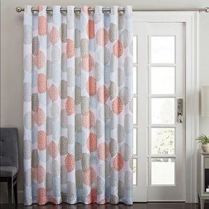 Floral Decorative Curtain Panels (4)